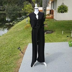 CK black jumpsuit